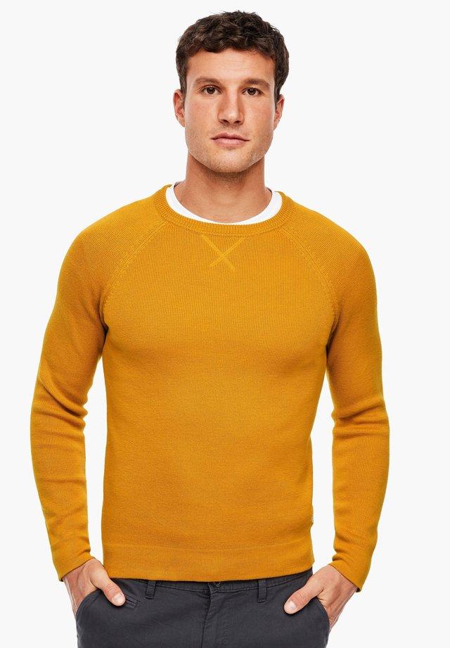 MIT RAGLANÄRMEL - Trui - yellow