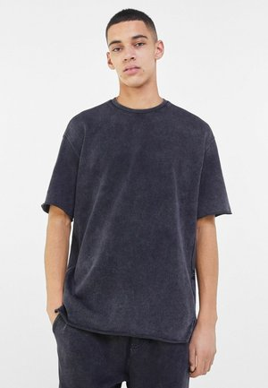 SHORT SLEEVE SWEAT - Basic T-shirt - grey