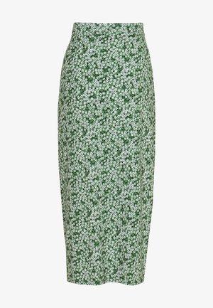VANESSA SKIRT - Maxi skirt - green