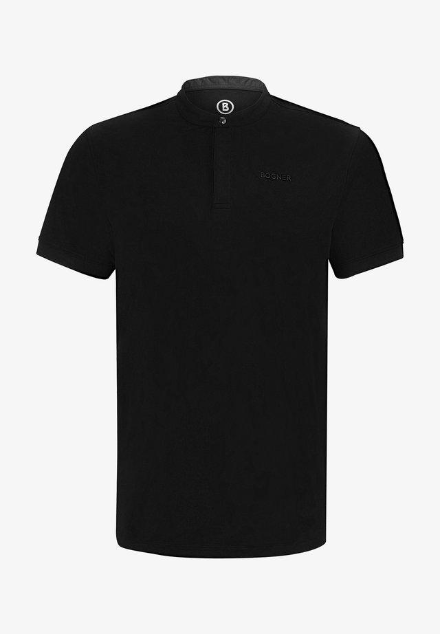 ISAAC - Poloshirt - schwarz