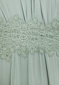 VILA PETITE - VIMILINA HALTERNECK DRESS - Occasion wear - light green - 2