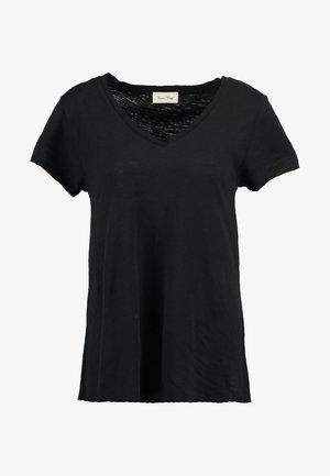 JACKSONVILLE V NECK TEE - T-shirt basic - noir