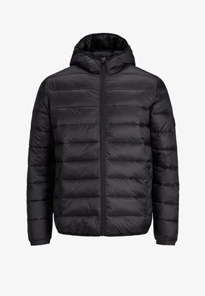 JJEMAGIC PUFFER HOOD - Light jacket - black