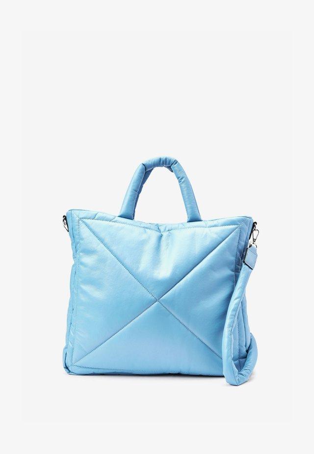 PADDED - Velká kabelka - blue