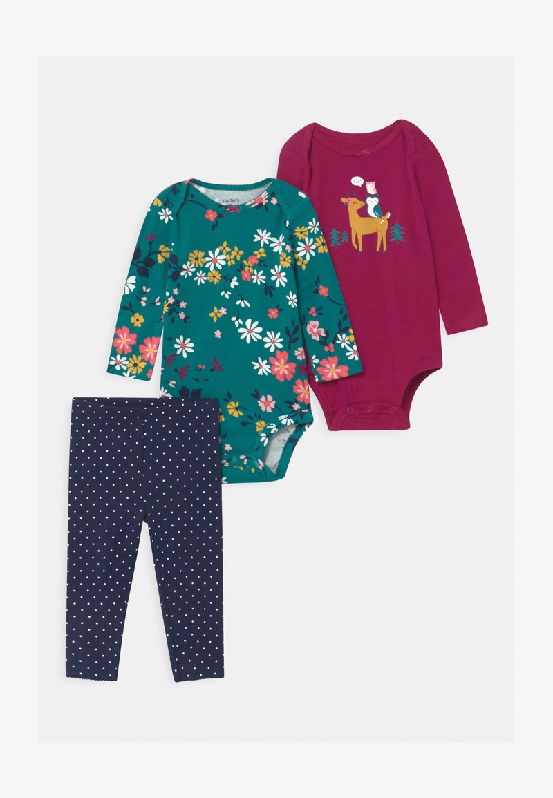Carter's - OWL SET - Leggings - multicolor