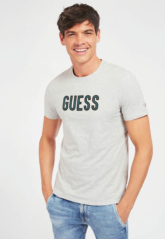 DEAL TEE - Print T-shirt - gris clair