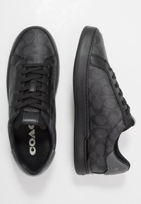 Coach - SIGNATURE TENNIS CUP SOLE - Sneakers basse - charcoal/grey - 1
