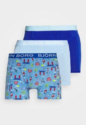 JAPANESE SUMMER SAMMY 3 PACK - Pants - placid blue