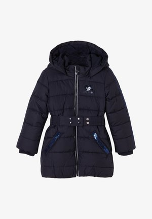 MIT PAILLETTEN - Winterjas - navy