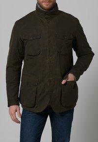 Barbour - OGSTON - Short coat - olive - 1