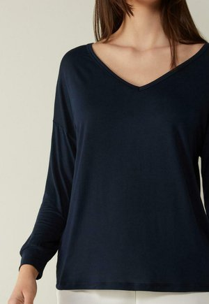 Long sleeved top - blu intenso