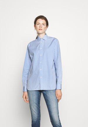 LONG SLEEVE - Košile - medium blue/white