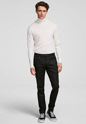 Spodnie materiałowe - d01 blk c krlhd