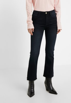 LE CROPPED MINI RAW EDGE - Jean bootcut - marcella