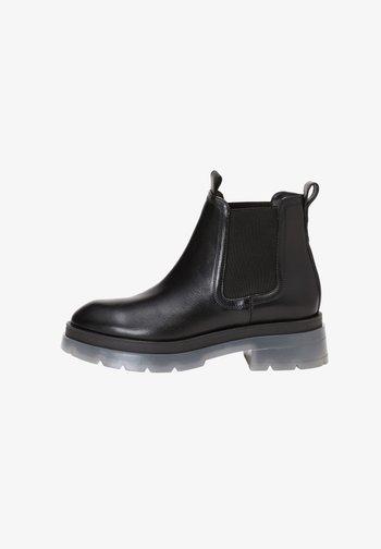 Kotníková obuv - black translucent