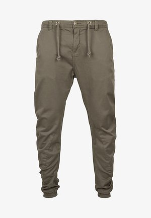 JOGGING - Cargo trousers - olive