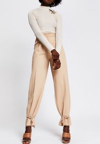 River Island - Long sleeved top - cream - 1