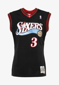 Mitchell & Ness - NBA PHILADELPHIA  ALLEN IVERSON SWINGMAN  - Article de supporter - black/white - 4