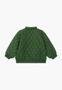 Mini Rodini - DIAMOND QUILTED  - Winter jacket - dark green - 1