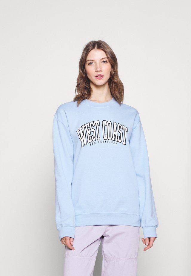 WEST COAST - Sweatshirts - pale blue