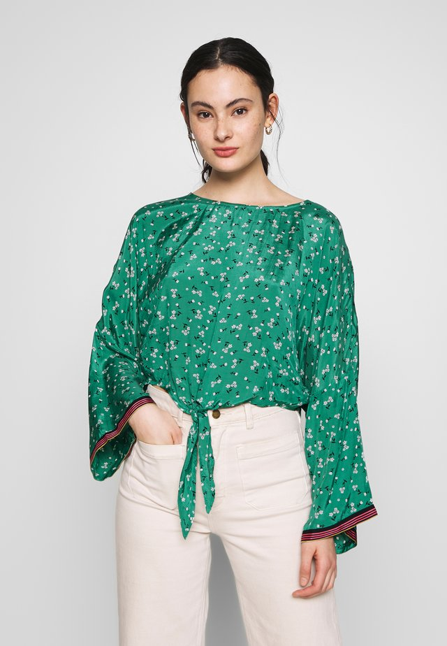 BACK ROUND - Blusa - emerald bay