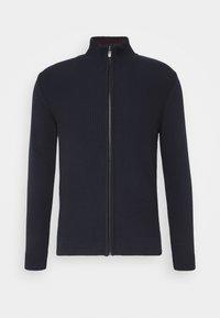 TOM TAILOR - Kardigan - knitted navy - 0