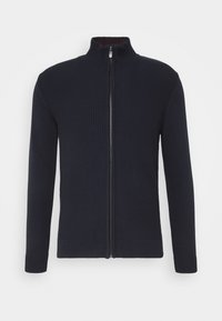 Cardigan - knitted navy