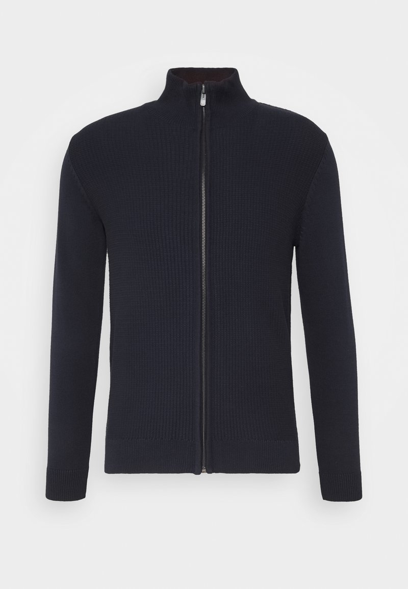 TOM TAILOR - Kardigan - knitted navy
