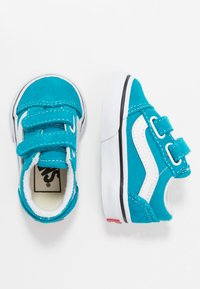 Vans - OLD SKOOL - Zapatillas - caribbean sea/true white - 0