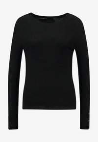 ONLY - ONLIZA BUTTON - Jersey de punto - black - 3