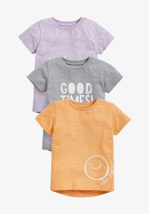 3 PACK - T-shirt print - multi-coloured