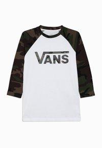 Vans - BY VANS CLASSIC RAGLAN BOYS - Long sleeved top - white - 0