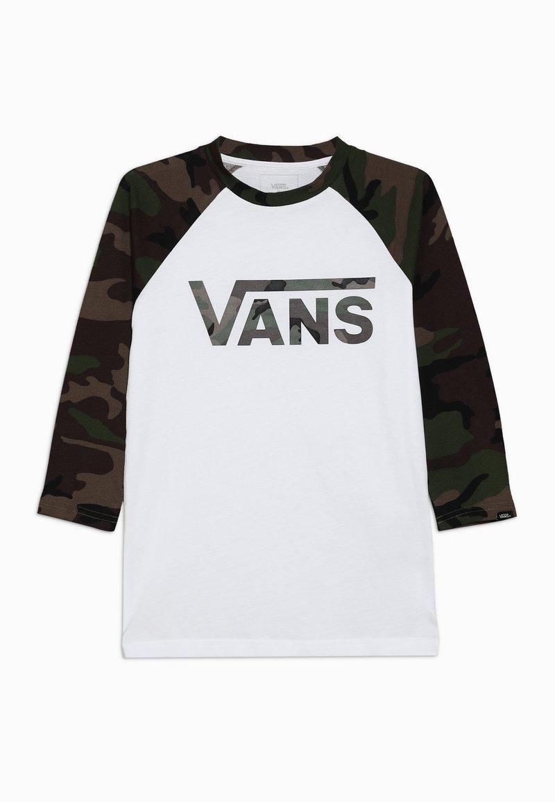 Vans - BY VANS CLASSIC RAGLAN BOYS - Long sleeved top - white
