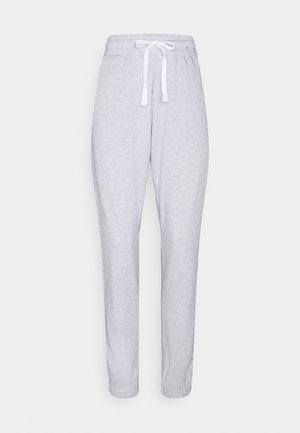 LIFESTYLE GYM TRACK PANTS - Tracksuit bottoms - clody grey marle