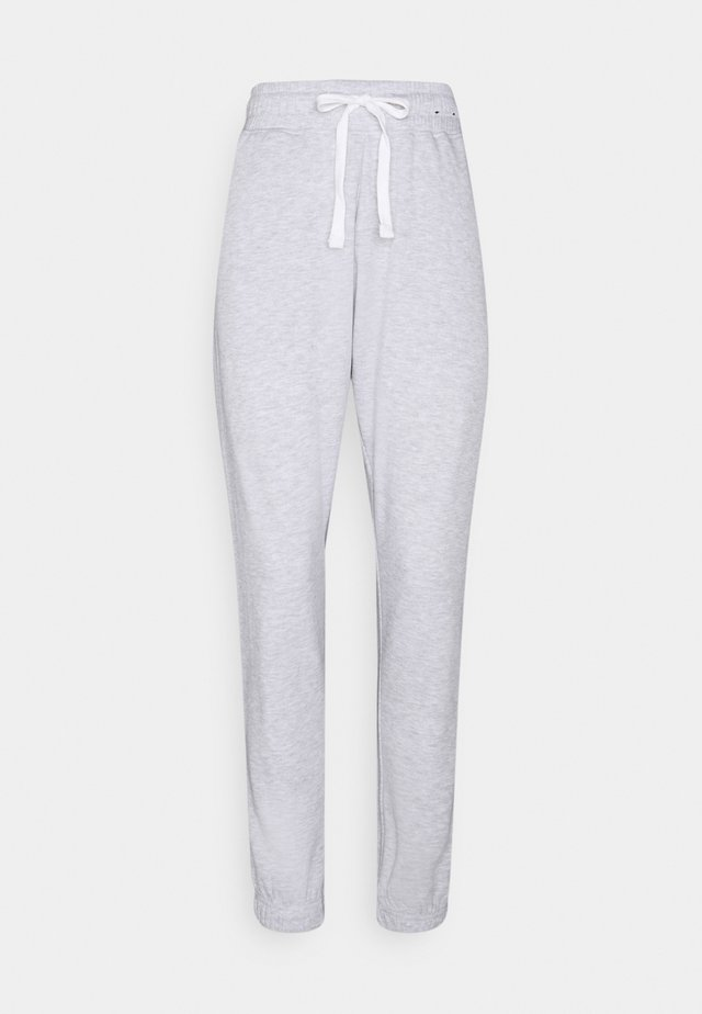 LIFESTYLE GYM TRACK PANTS - Pantalon de survêtement - clody grey marle