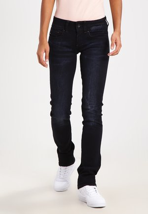 MIDGE SADDLE MID STRAIGHT  - Straight leg jeans - rink superstretch