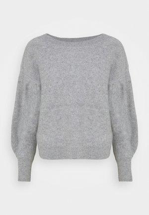 BOILED BOATNECK - Jumper - medium heather grey