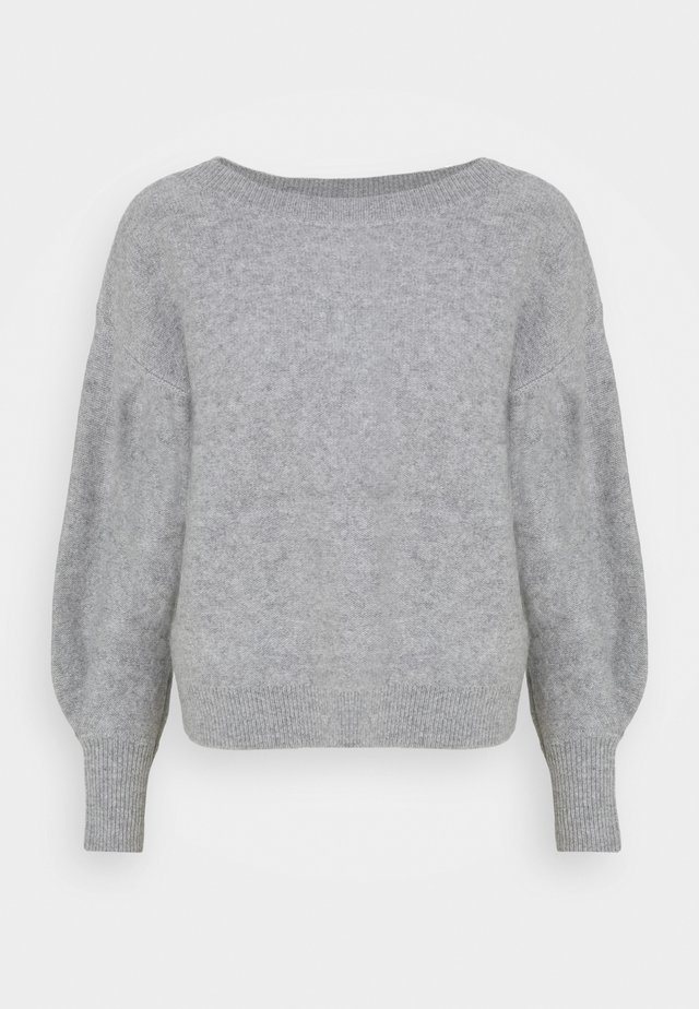 BOILED BOATNECK - Jumper - medium heather grey