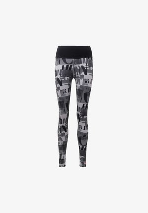 BELIEVE THIS ITERATIONS LEGGINGS - Legginsy - grey