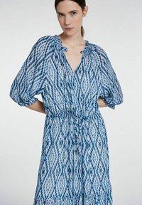 SET - Maxi dress - white blue - 5