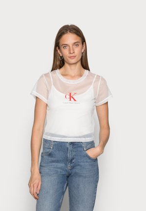 BABY TEE - T-shirt imprimé - bright white
