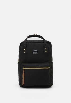 SQUARE BACKPACK UNISEX - Tagesrucksack - black