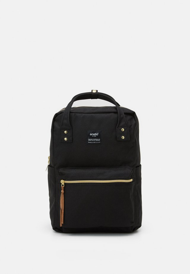 SQUARE BACKPACK UNISEX - Reppu - black