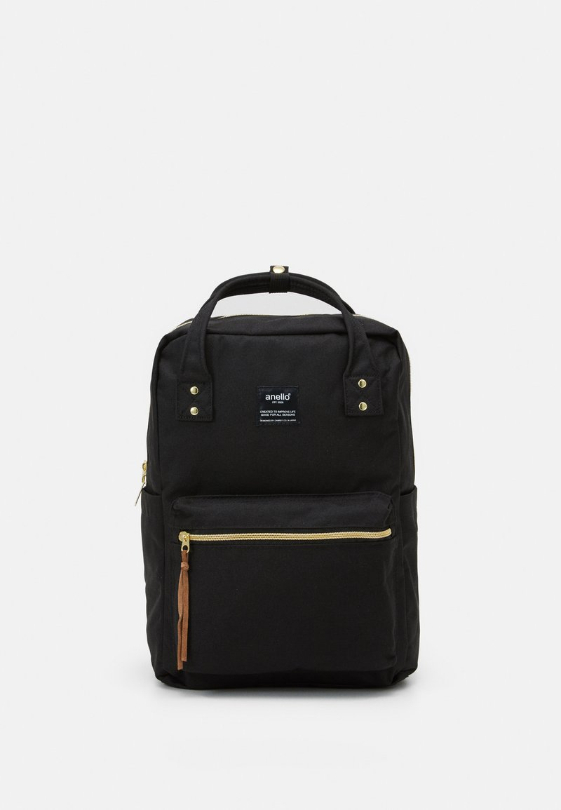 anello - SQUARE BACKPACK UNISEX - Tagesrucksack - black
