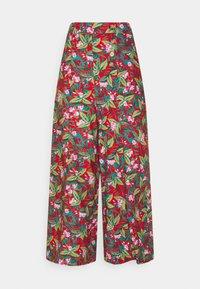 King Louie - MELODY PANTS SALINA - Pantalon classique - red - 0