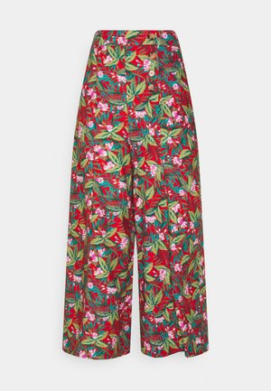 MELODY PANTS SALINA - Trousers - red