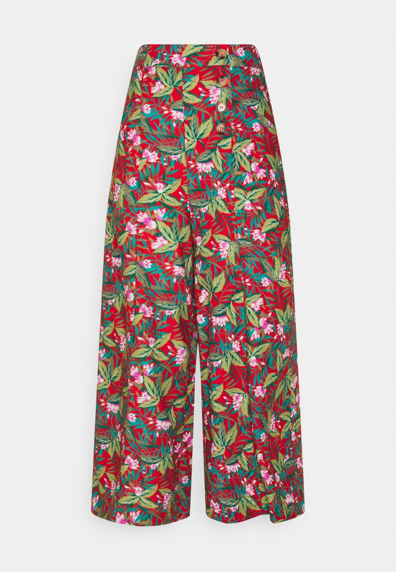 King Louie - MELODY PANTS SALINA - Pantalon classique - red