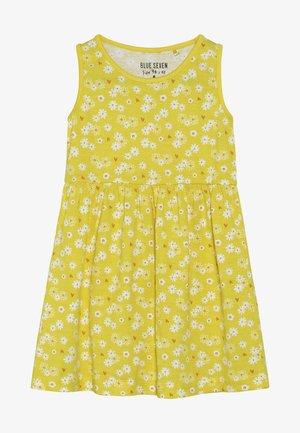 Jerseyklänning - gelb