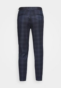 Lindbergh - CHECKED PANTS - Trousers - navy - 1
