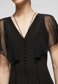 KARL LAGERFELD - Maxi dress - black - 4